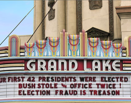 OUR FIRST 42 PRESIDENTS WERE ELECTED. BUSH STOLE THE OFFICE TWICE! ELECTION FRAUD IS TREASON
